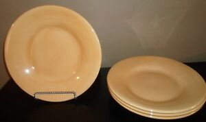 4-Pottery-Barn-SAUSALITO-Amber-12-1-4-034-Dinner-Plates-China