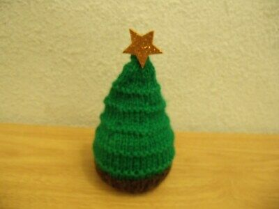 1 x TERRYS CHOCOLATE ORANGE  HAND KNITTED SPROUT  COVER CHRISTMAS