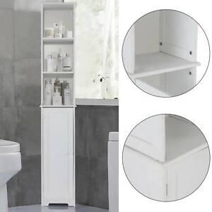 New-White-Furniture-Bathroom-Wooden-Cabinet-Shelf-Cupboard-Bedroom-Storage-Unit
