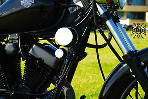 Details about YAMAHA VIRAGO XV250 BOBBER AIR FILTER INTAKE KIT 2 FILTERS  BLACK & CHROME XV 250