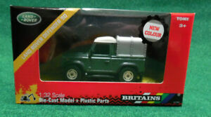 Britains-LAND-ROVER-DEFENDER-90-Models-1-32nd-Scale