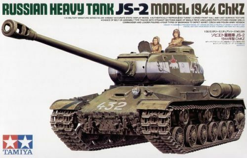 1 35 Tamiya Russian Heavy Tank JS-2 Model1944 ChKZ