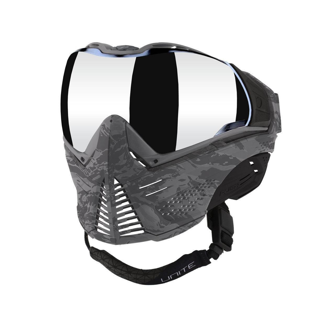 Push Unite Goggle   Mask W Revo Thermal Lens - Grey Camo - Paintball