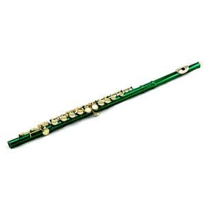 "** Cadeau ** Superbe Bande Approuvé Vert C Flûte W Gold Touches Fermer Trou-l New Band Approved Green C Flute W Gold Keys Close Hole"" Data-mtsrclang=""fr-fr"" Href=""#"" Onclick=""return False;"">afficher Le Titre D'origine Bgkxmm1q-07163039-376845437"