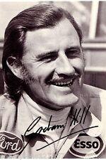 Graham Hill ++Autogramm++ ++FORMEL 1 Weltmeister ++