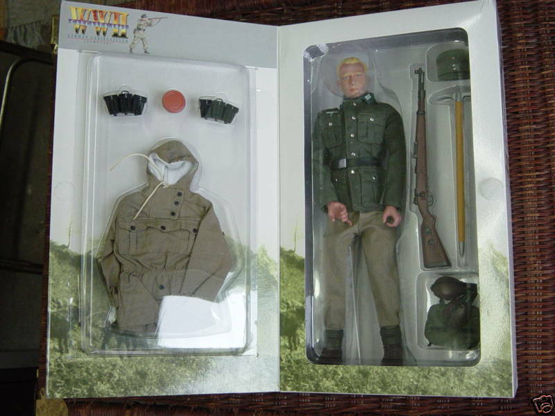 1 6th Geruomo WWII  Dragon Gunther, Caucasus, Equipment fits Vintage Gi Joe  produttori fornitura diretta