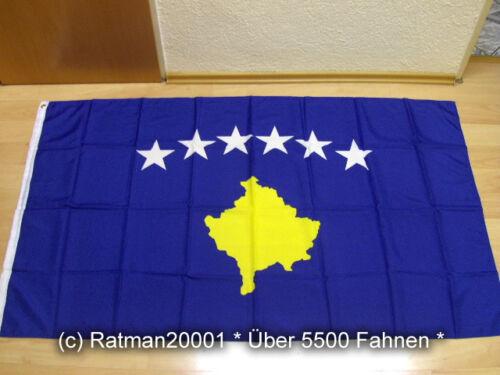 90 x 150 cm Fahnen Flagge Kosovo