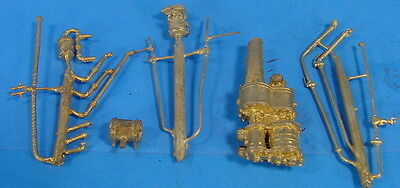 """O//On3//On30 WISEMAN BACK SHOP BRASS PARTS BS-020 GLOBE VALVES CORED 1-1//2/"""" PIPE"""