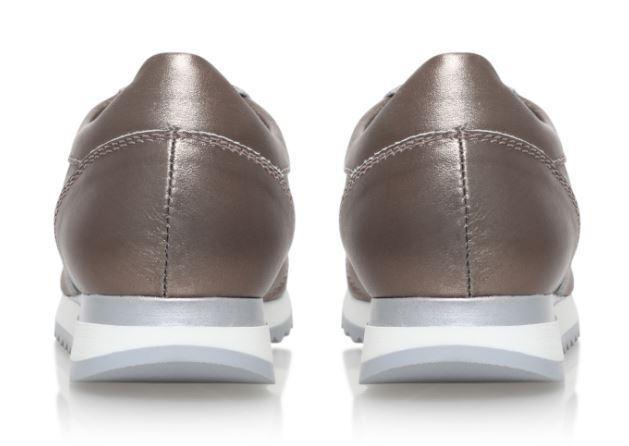 Arnaldo Arnaldo Arnaldo Toscani Effie Bronze Leather Trainers   UK 7 EU 41 LN11 13 SALEx 38b217