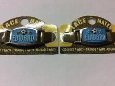 "2 LACE MATES ""EDWARD"" (Shoe Or Bracelet Charm) Party Favours FREE POSTAGE"