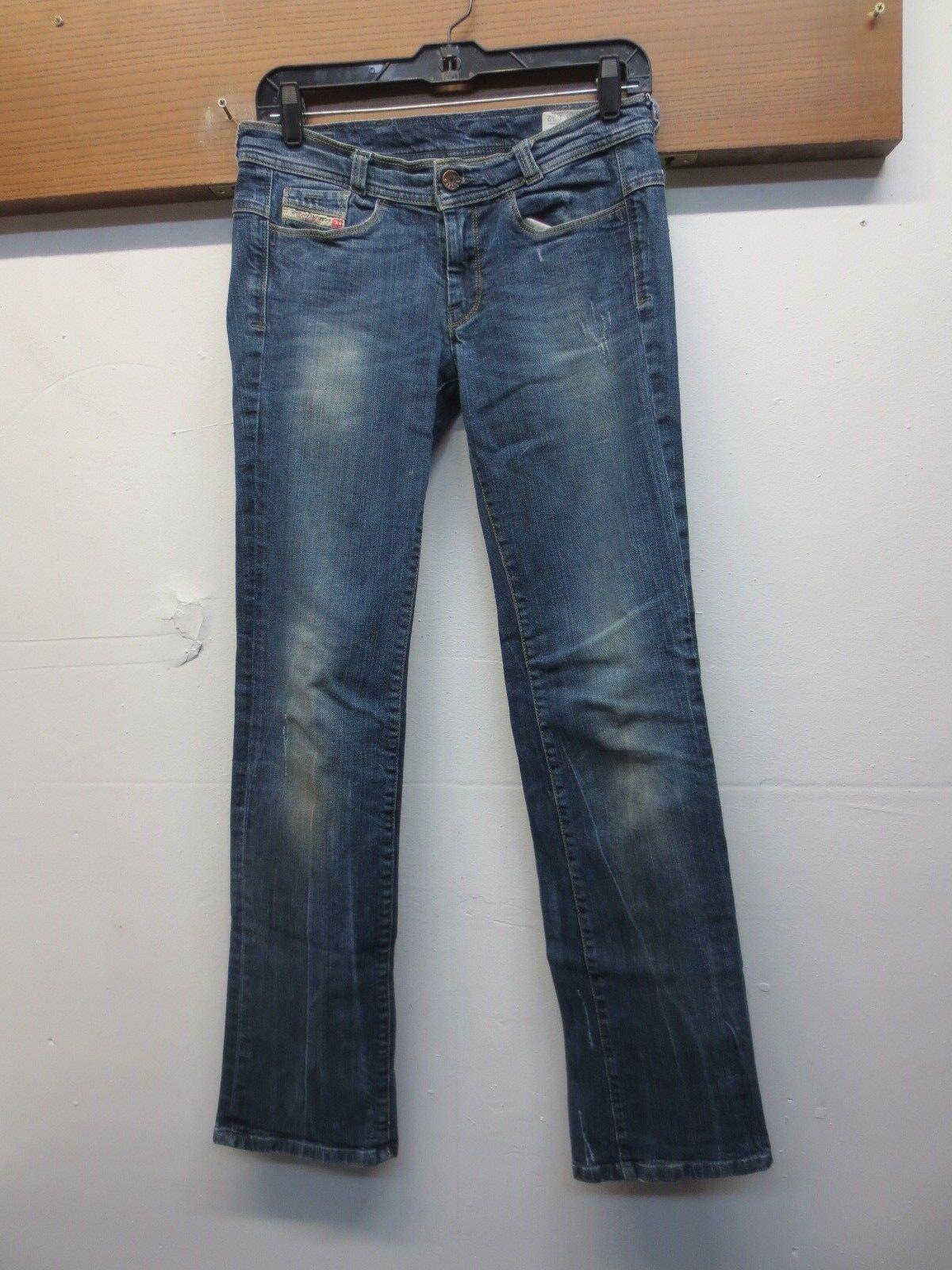 EUC Diesel Industry Soozy Stretch wash 008WR Womens 26x32 Denim bluee Jeans
