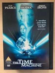 The-Time-Machine-DVD-2002-H-G-Wells-Fantascienza-Film-Remake-in-Snapper-Case