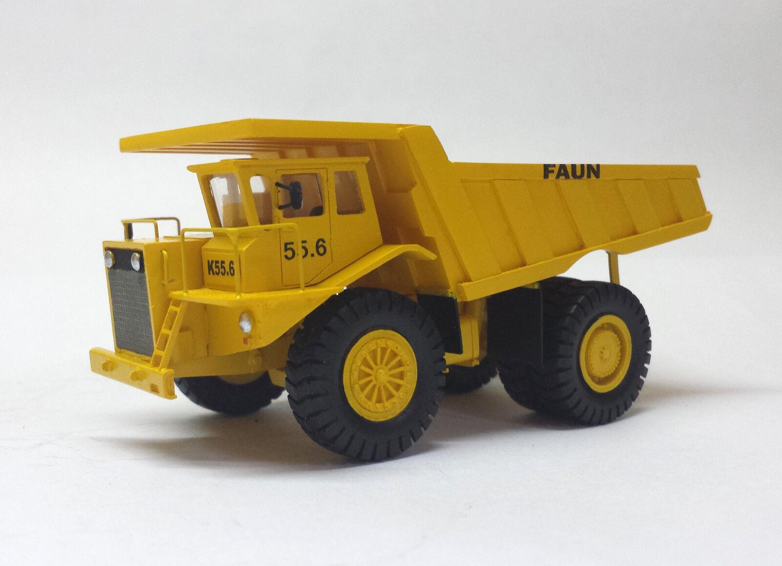 genuina alta calidad Listo resin ho 1 87 87 87 Faun k55.6 camiones de volteo-fankit Models