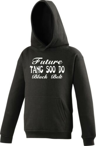 Personalised KIDS Hoody Tang Soo Do Future Black Belt Martial Arts