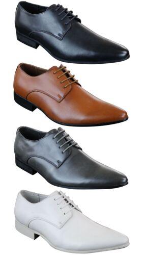 Bout Simili Pointu Décontracté Doublure Cuir Lacées Chaussures Chic Homme YX4UUI