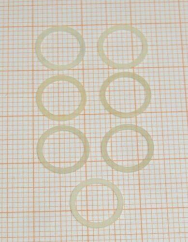 72//0878//00 Nr 7 Stück Haftreifen Spur N Minitrix Q741//ETR