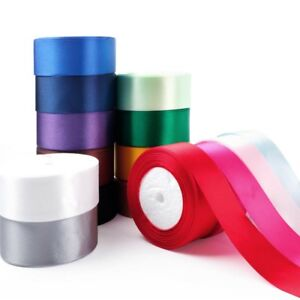 1-Roll-25-Yard-Multicolor-Silk-Satin-Ribbon-Wedding-DIY-Christmas-Festival-Decor
