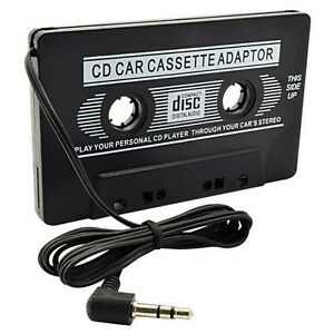 Audio-cassette-Adapter-Aux-Cable-cable-de-3-5-mm-Jack-FR-a-MP3-iPod-Player-OP