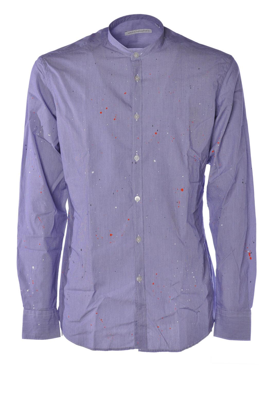 Daniele Alessandrini  -  Shirts - Male - 41 - Blau - 1736618C165143