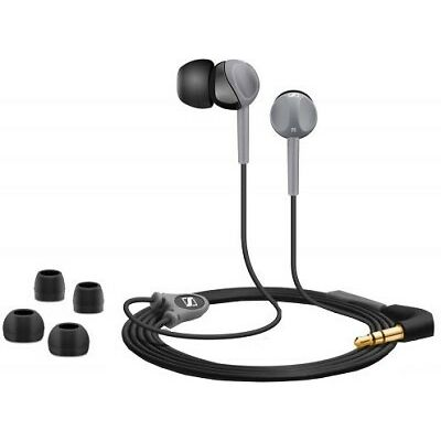 Sennheiser CX 180 Street II In-ear-canal phone Headset Color Black With Bill