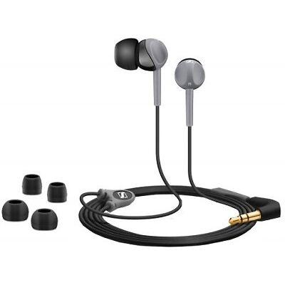 Sennheiser CX 180 Street II In-ear-canal phone Headset Color Black With Bill