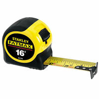 New Six 6 Stanley FatMax 33-716 16' Tape Measure w Blade Armor L@@K Tools and Accessories on Sale