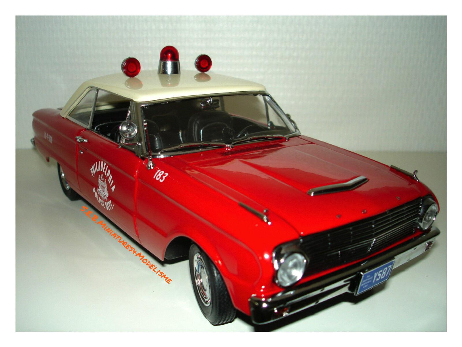 FORD FALCON POLICE DE PHILADELPHIE 1963 1 18 SUN STAR
