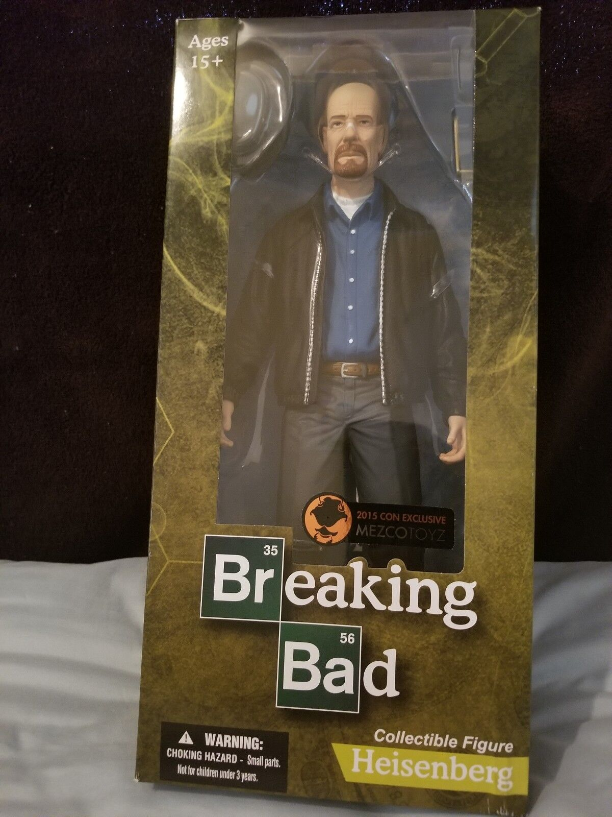 breaking bad  heisenberg  mezco sdcc exklusiv.