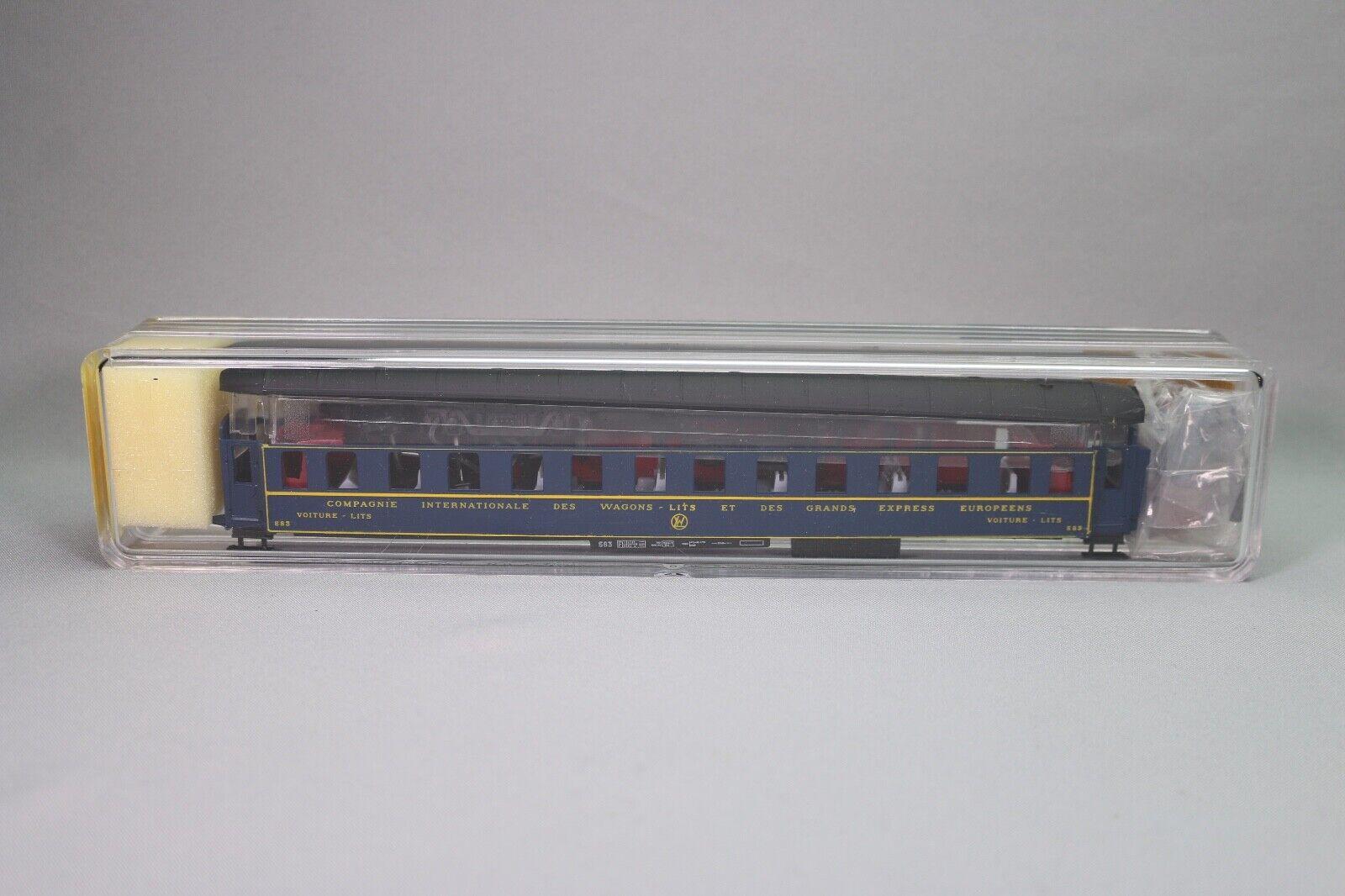 ZA1333 FRANCE i treni Voiture Ho 236K Kit a monter wagon lits CIWL