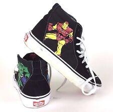 Vans Skateboard Shoe Marvel Comics Captain America Ironman Hulk Thor Kids US 3.0