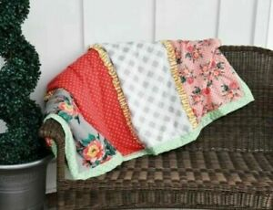 Matilda-Jane-Daydreamer-Quilted-Quilt-Throw-Blanket-50X60-New-In-Bag