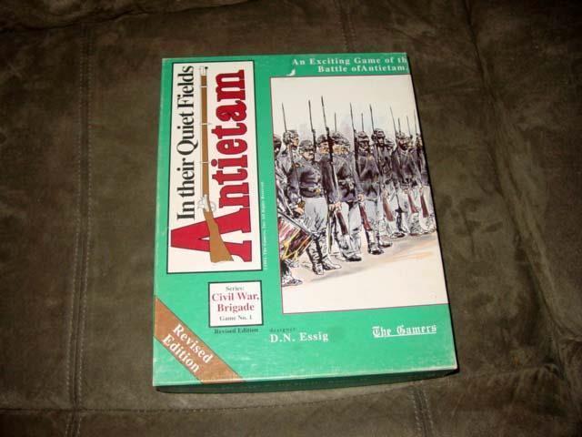 El 1991-los jugadores en sus campos tranquilo-Antietam-Brigada guerra civil (Rev EDT)