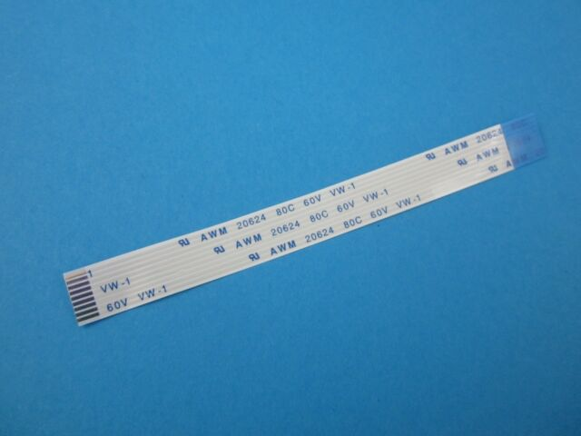 9 Pin Occupancy on both Sides 1mm Pitch AWM 20624 80c 60v Flex Cable 100mm