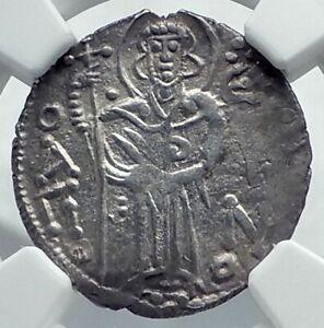 MANUEL-I-Trebizond-Empire-1238AD-Silver-Asper-Ancient-Byzantine-Coin-NGC-i78676