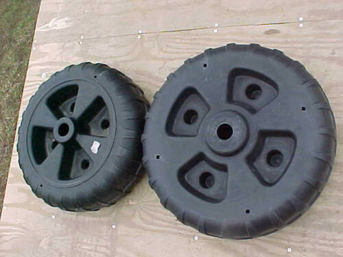 Set of 4 Best made dock wheels Wont find these at the big box stores USA
