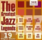 The Greatest Jazz Legends Various Artists Audio CD