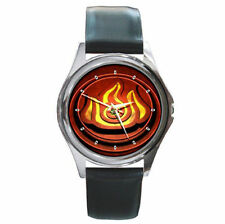 Avatar The Last Air Bender The will of fire emblem ninja leather watch
