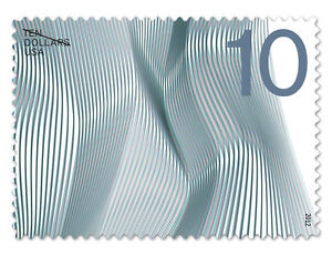 USPS-New-10-Waves-of-Color-Self-Adhesive-Stamp-Sheet-of-10-Designed