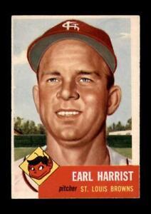 1953-Topps-Set-Break-65-Earl-Harrist-EX-EXMINT-GMCARDS