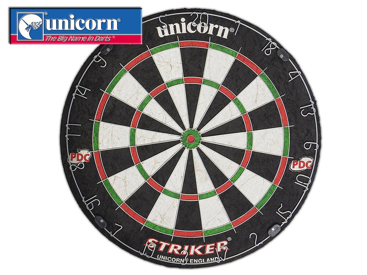 Ausverkauf Unicorn Unicorn Unicorn - Striker Borste Dartscheibe - Schwarz Rot Grün 5c03ee