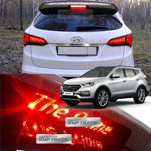 Carbon Rear Brake Light Mask Decal Sticker for HYUNDAI 16-18 Santa Fe The Prime