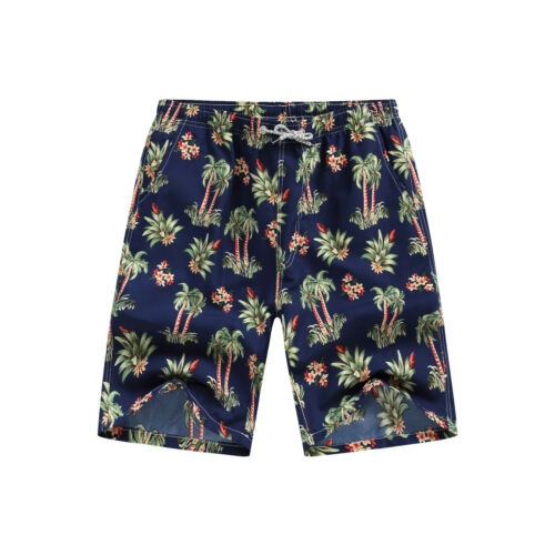 Mens Casual Beach Short Swim Trunks Summer Cool Quick Dry Board Shorts Bathing