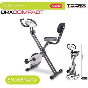 Toorx-Cyclette-BRX-COMPACT-MAGNETICA-SalvaSpazio-AccessoFacilitato-Volano6kg