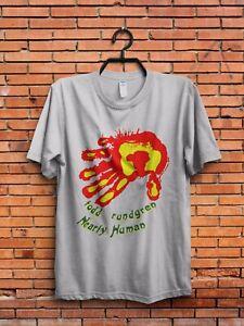 Todd Rundgren Global Album Cover Men/'s Black T-Shirt Size S M L XL 2XL 3XL