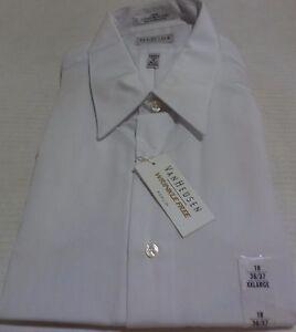 0d3bb65daee Van Heusen Men s Pinpoint Button Down Dress Shirt Size 2XXL Color ...