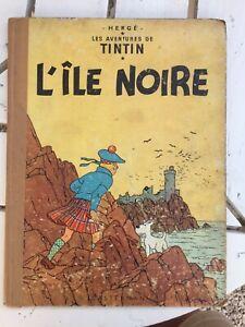 TINTIN ANCIEN  L'ILE NOIRE  1947