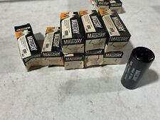 2 NOS Two Mallory PSU14565 Motor Run Capacitors 145-174 MFD 165 WVDC