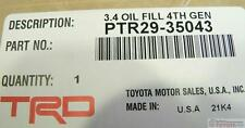 OEM TOYOTA 4RUNNER TACOMA TUNDRA GEN 4 BLACK SUPERCHARGER OIL KIT PTR29-35043
