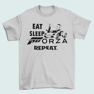 Forza Eat Sleep Repeat Gaming Horizon Kids T SHIRT. Gamers Gift Tee. FREE P&P