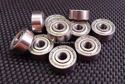 (25 Pcs) 623zz (3x10x4mm) Metallo Schermato Cuscinetto A Sfera Cuscinetti 623z Alta Qualità E Basso Sovraccarico